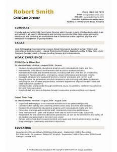 sample child care director resume  art director resume  director    sample child care director resume
