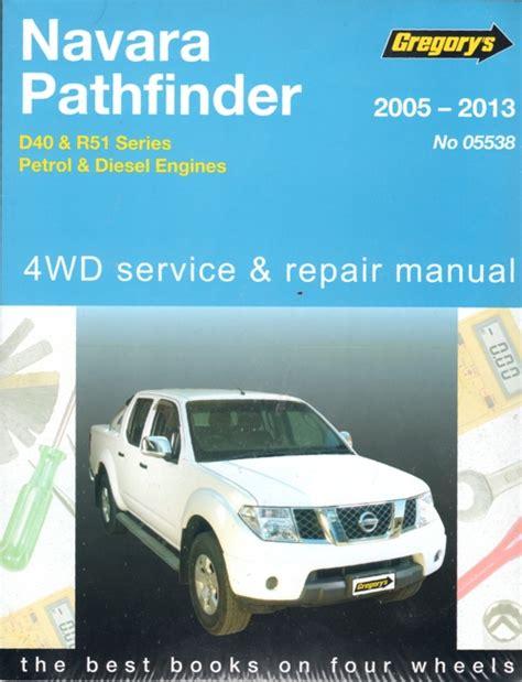 05 Nissan Pathfinder Repair Manual (ePUB/PDF)