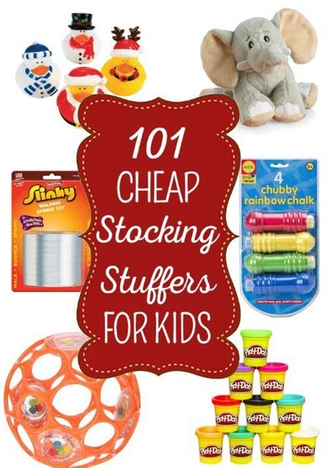 101 Cheap Stocking Stuffers Ideas for Kids of All Ages
