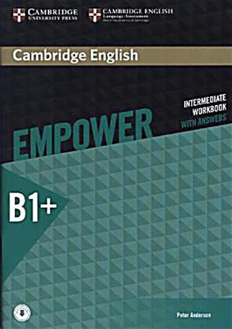 1107468698 Cambridge English Empower Intermediate Workbook With Answers With Downloadable Audio