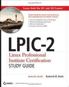 1118000153 Lpic2 Linux Professional Institute Certification Study Guide Exams 201 And 202