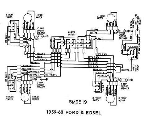 1959 Edsel Power Window Wiring Diagram Pdf Epub Ebook