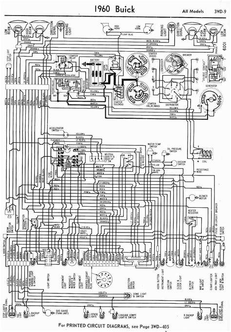 1960 buick wiring diagram