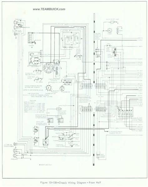 1964 buick skylark wiring diagram