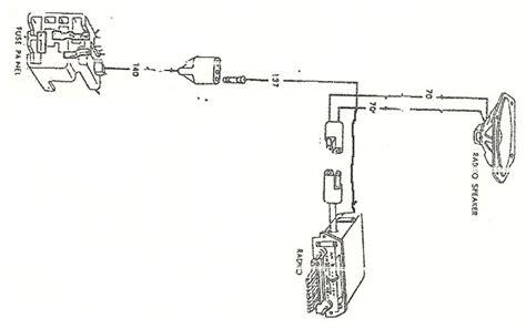 1966 mustang wiring diagram radio