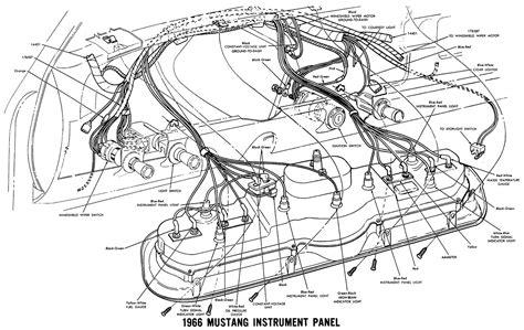 alternator wiring diagram ford mustang images 1966 mustang wiring diagrams average joe restoration