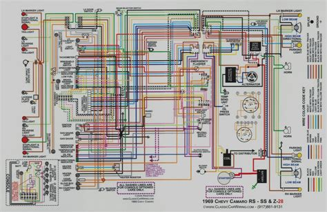 1968 camaro wiring diagram interior