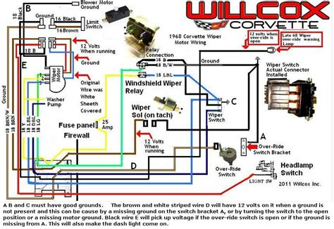 1968 Corvette Wiper Wiring Diagram (ePUB/PDF) Free