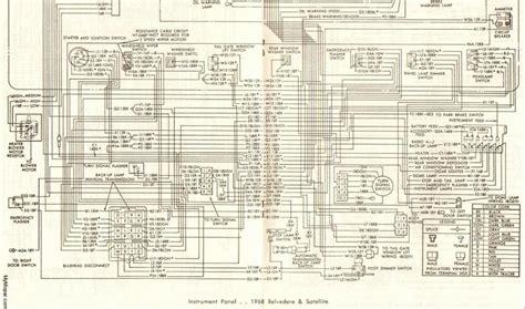 1968 Plymouth Roadrunner Wiring Diagram (ePUB/PDF)