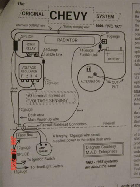 1970 chevelle tachometer wiring