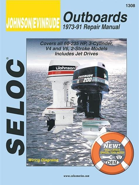 1973 To 1991 Johnson Evinrude Outboard Motor Repair Manual (ePUB/PDF