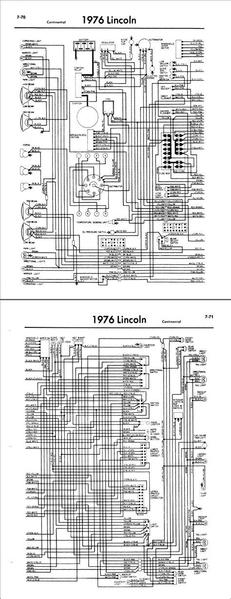 1976 Lincoln Wiring Diagram (ePUB/PDF)