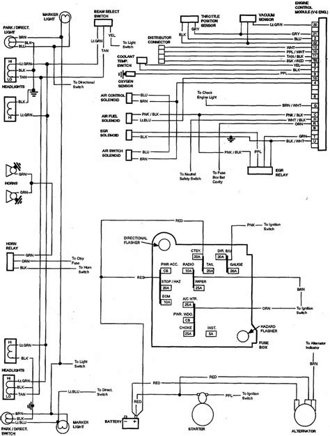1981 gmc truck wiring diagram