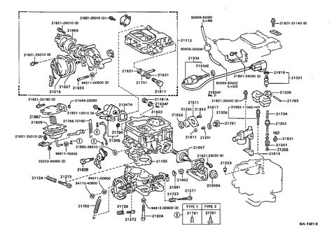 1985 toyota pickup engine diagram