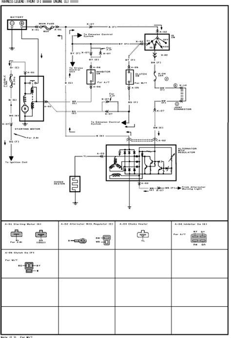 [SCHEMATICS_4LK]  1987 Mazda B2000 Wiring Diagram | Mazda B2200 Wiring Diagram |  | eBook Download