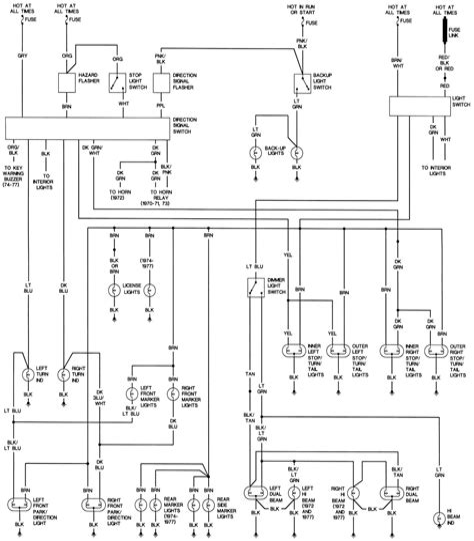 1988 firebird wiring diagram