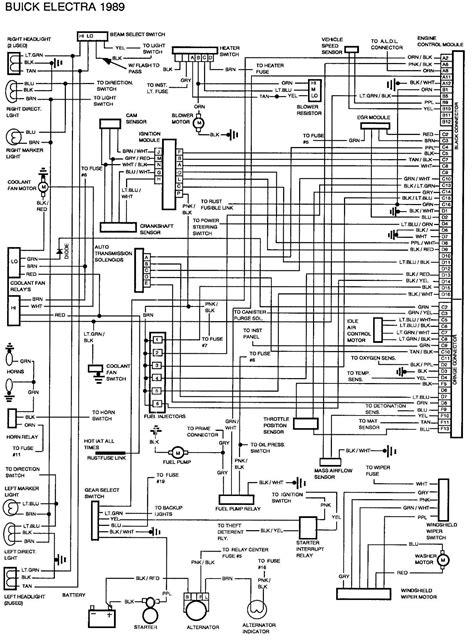 1989 buick electra wiring diagram