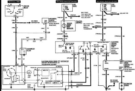 1989 corvette starter wiring diagram