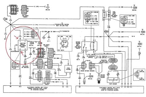 1990 jeep cherokee ignition wiring diagram