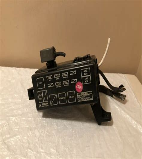 1993 toyota pickup fuse box diagram