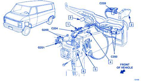 1995 chevy g20 wiring diagram