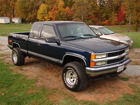 1996 Chevrolet Silverado Owners Manual