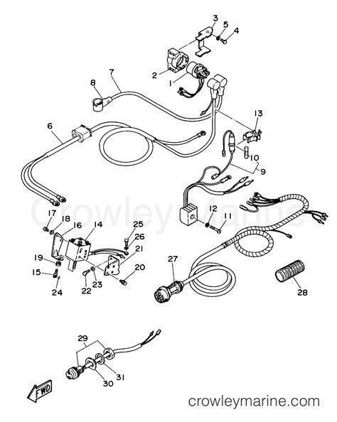 1998 Yamaha 25eshw Outboard Service Repair Maintenance Manual ...