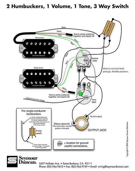 2 B Humbucker Vol Tone Wiring Diagram (ePUB/PDF) Free Wiring Diagram B Humbucker on