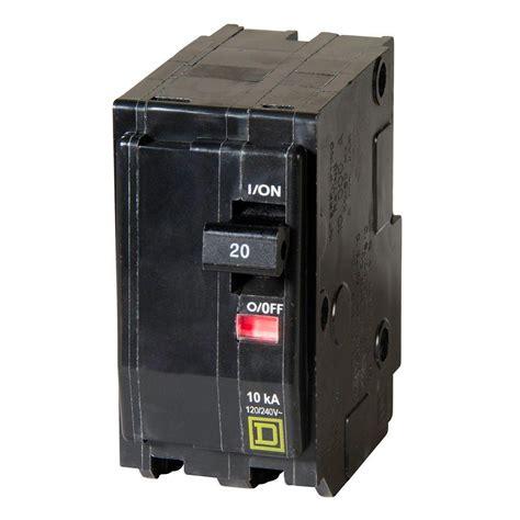 20 volt 2 pole breaker wiring diagram