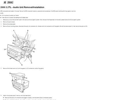 2000 Acura Tl Antenna Wiring Diagram (ePUB/PDF) Free