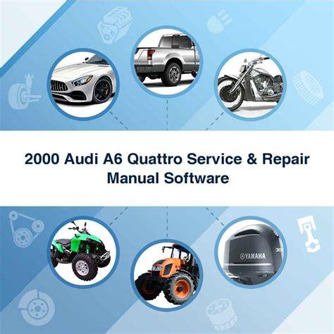 2000 Audi A6 Quattro Service Repair Manual Software