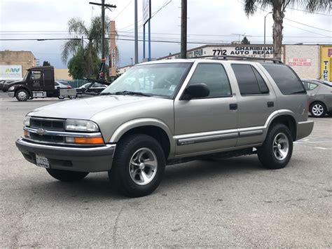 2000 Chevrolet TrailBlazer Owners Manual