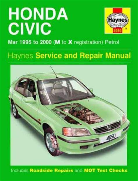 2000 Civic Service Manual (ePUB/PDF) Free