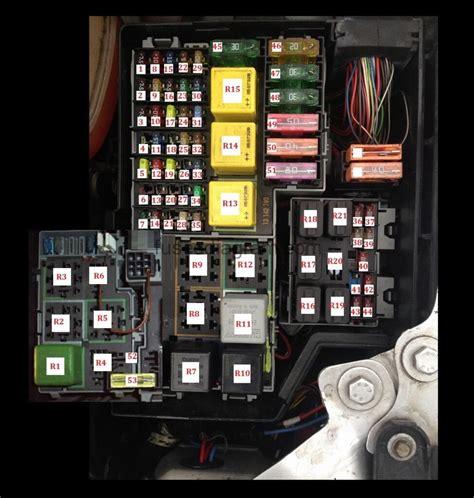 2000 corsa fuse box layout