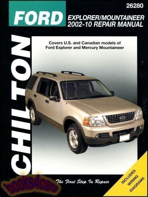 2000 Ford Explorer Chilton Manual (ePUB/PDF) Free