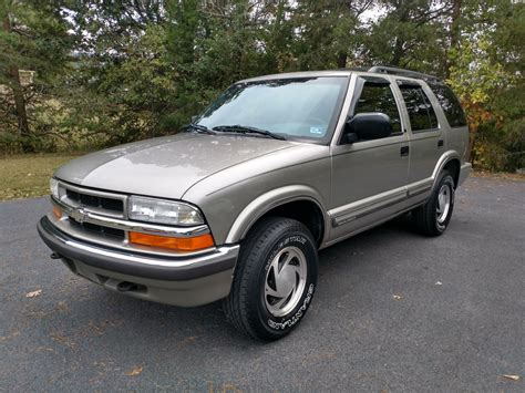 2000 Chevrolet Blazer Owners Manual