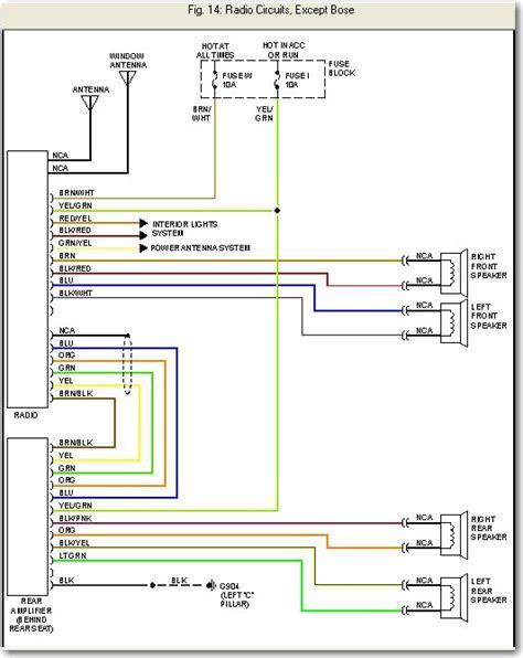 2001 Nissan Altima Stereo Wiring Diagram (ePUB/PDF) Free on