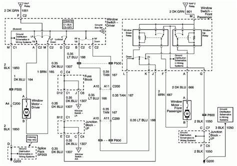 2001 pontiac montana wiring diagram