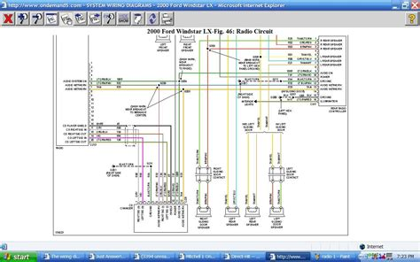 ford mustang stereo wiring diagram image 2001 ford mustang stereo wiring diagram images 93 mazda protege on 2007 ford mustang stereo wiring