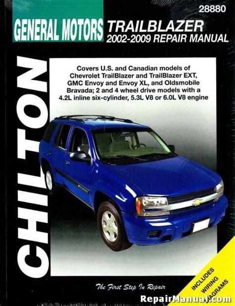2002 Chevy Trailblazer Repair Manual Free (ePUB/PDF)