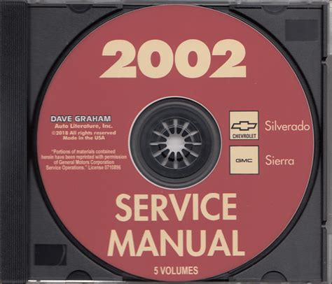 2002 Gmc Sierra Service Manual (ePUB/PDF) Free