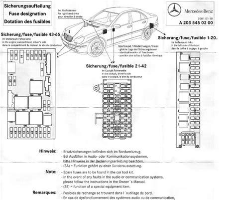 2002 mercedes benz c320 wiring diagram