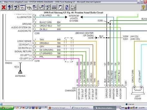 2002 Mustang Mach Radio Wiring Diagram Pdf Epub Ebook