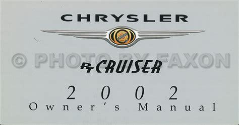 2002 Pt Cruiser Manual (ePUB/PDF)