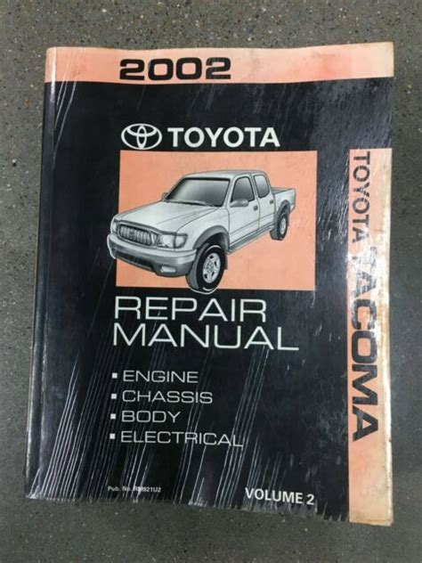 Magnificent 2002 Tacoma Service Manual Pdf Epub Pdf Wiring Digital Resources Remcakbiperorg
