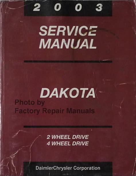 2003 Dodge Dakota Repair Manual (ePUB/PDF)