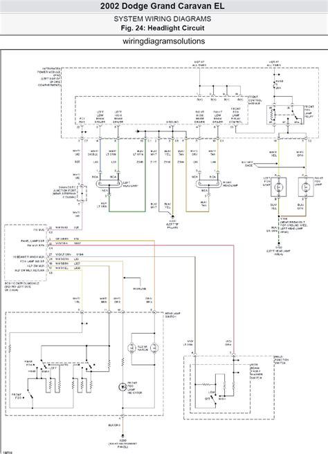 2003 Dodge Grand Caravan Wiring Diagram