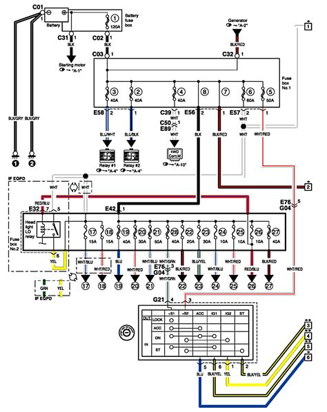 2003 suzuki xl7 wiring diagrams free diagram