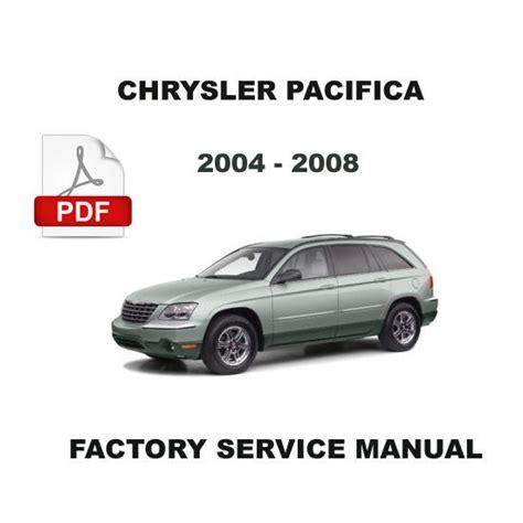 2004 Chrysler Pacifica Service Manual (ePUB/PDF)
