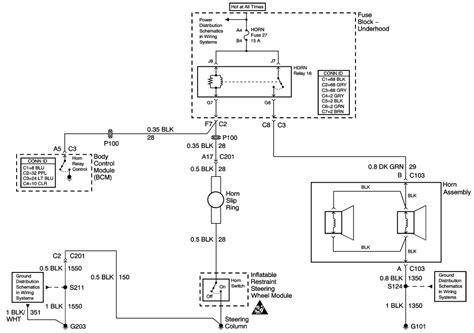 2004 impala hvac schematic